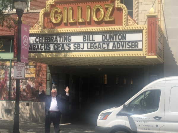 Abacus CPAs - Gillioz Theater Marquee